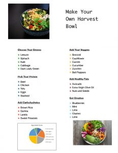 Cooking with Dana – Harvest Bowl