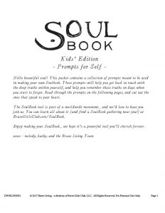 SoulBook – Prompts for Kids Self – Melody-Ross