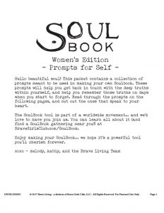 SoulBook – Prompts for Women Self – Melody Ross