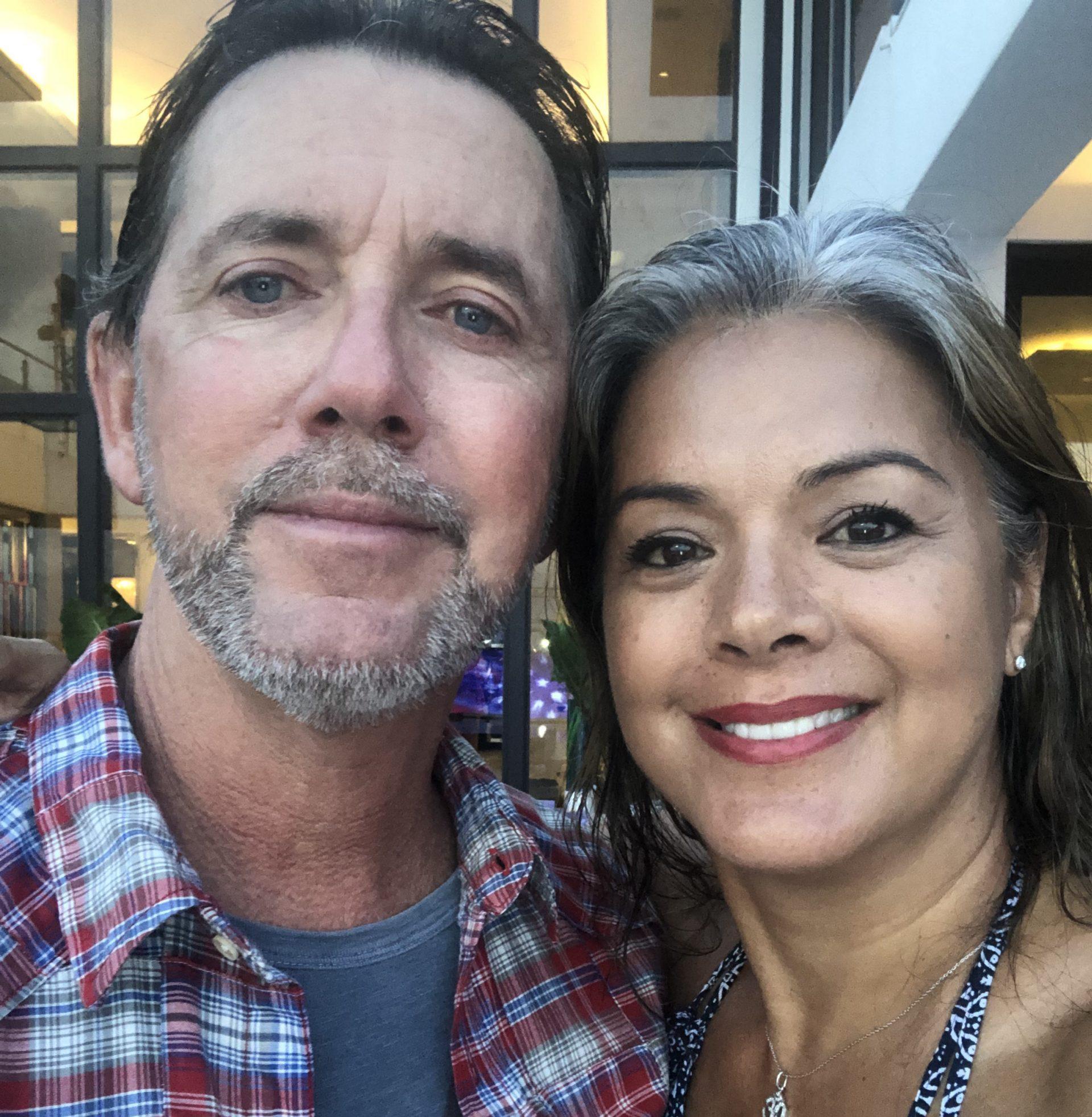 Tanya Villanueva Tepper & Ray Tepper